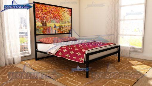 خرید تخت خواب فانتزی با تابلو کد 151