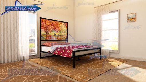 فروش اینترنتی تخت خواب تابلو دار ، تابلو تخت دو نفره کد 151