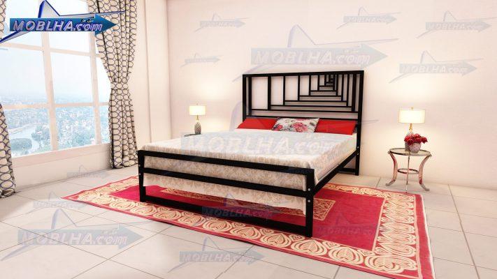 خرید اینترنتی تخت خواب فلزی دو نفره جدید کد 160