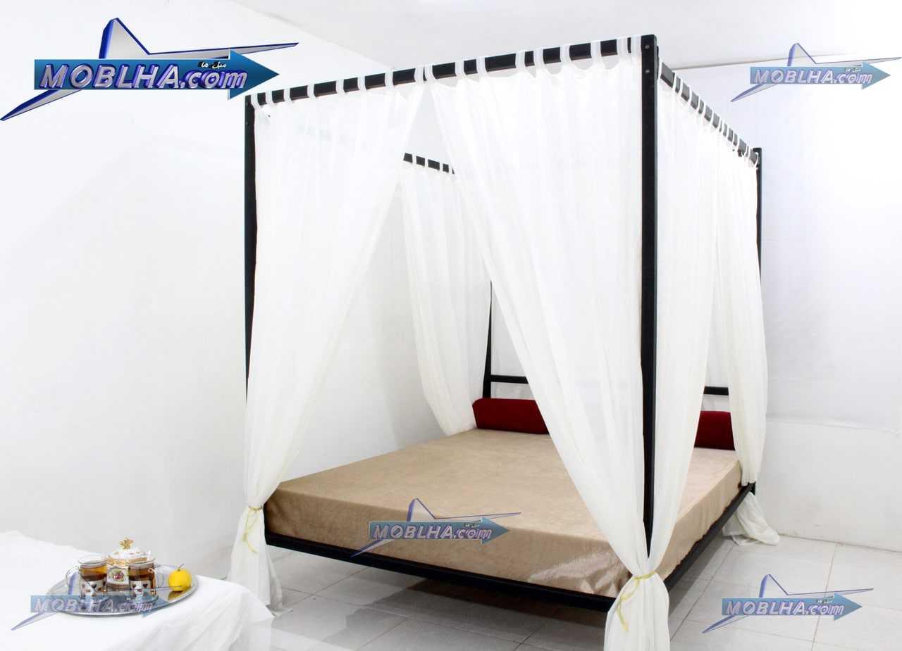 خرید تخت خواب حجله دار یا پرنسسی مدل 111