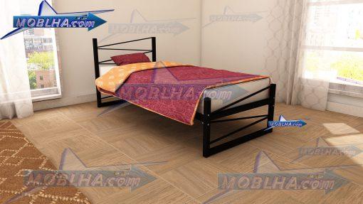 تخت خواب عرض 90 در 200 سانت مدرن مدل 107