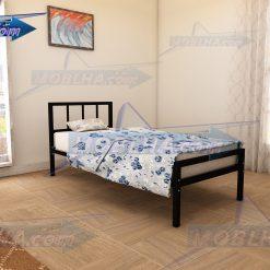 خرید تخت خواب فلزی یک نفره به صورت آنلاین و ارسال سراسر کشور مدل 138