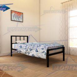 خرید تخت خواب یک نفره فلزی کد 138