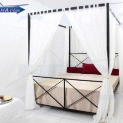 خرید تخت خواب حجله دار مدل 109