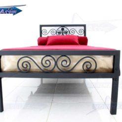 خرید تخت خواب یک نفره فرفورژه مدل 144