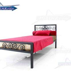فروش تخت خواب فرفورژه مدل 144 یک نفره