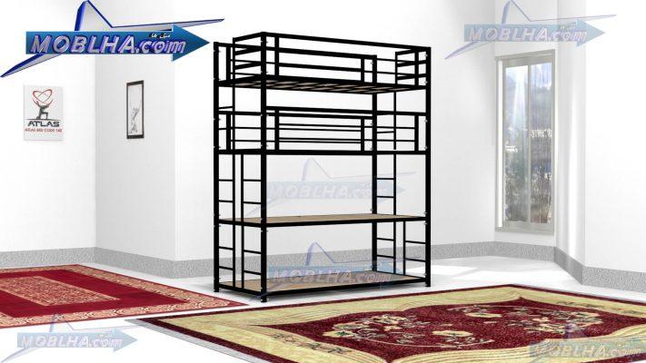 تخت خواب چهار طبقه مدل اطلس کد 140