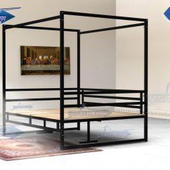 فروش تخت سنتی ستون دار