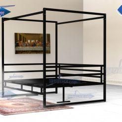 خرید تخت سنتی ستون دار