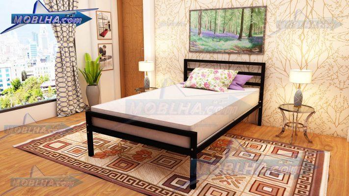 تخت خواب یک نفره ساده و شیک عرض 120 در 200