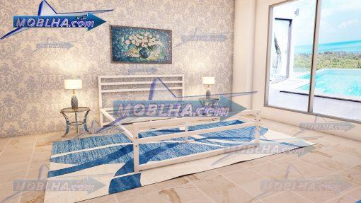 قطعات زیرین تخت خواب کد 114 سفید رنگ
