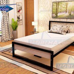 خرید تخت خواب یک و نیم نفره کد 154