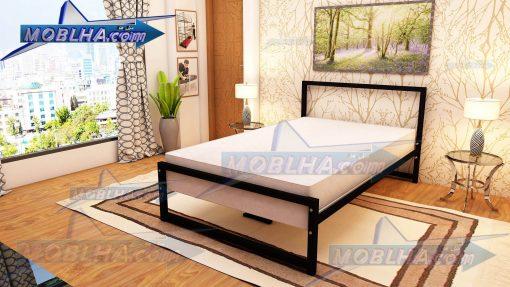 تخت خواب یک و نیم نفره مشکی رنگ کد 154