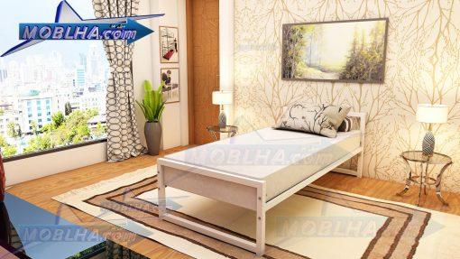 خرید تخت خواب سفید رنگ کد 154