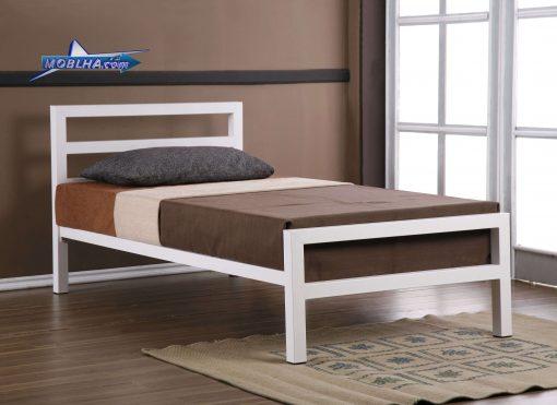 تخت خواب فلزی یک نفره ساده و شیک کد 113