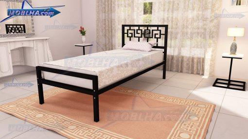 تخت خواب یک نفره یونانی کد 110