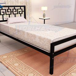 تخت خواب طرح مصری کد 110 یک نفره