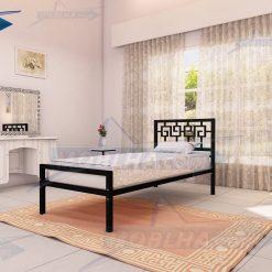 تخت خواب یک نفره با طرح یونانی و مصری کد 110