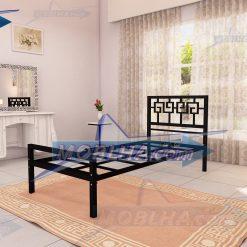 تصویر از قطعات زیرین تخت خواب یک نفره کد 110