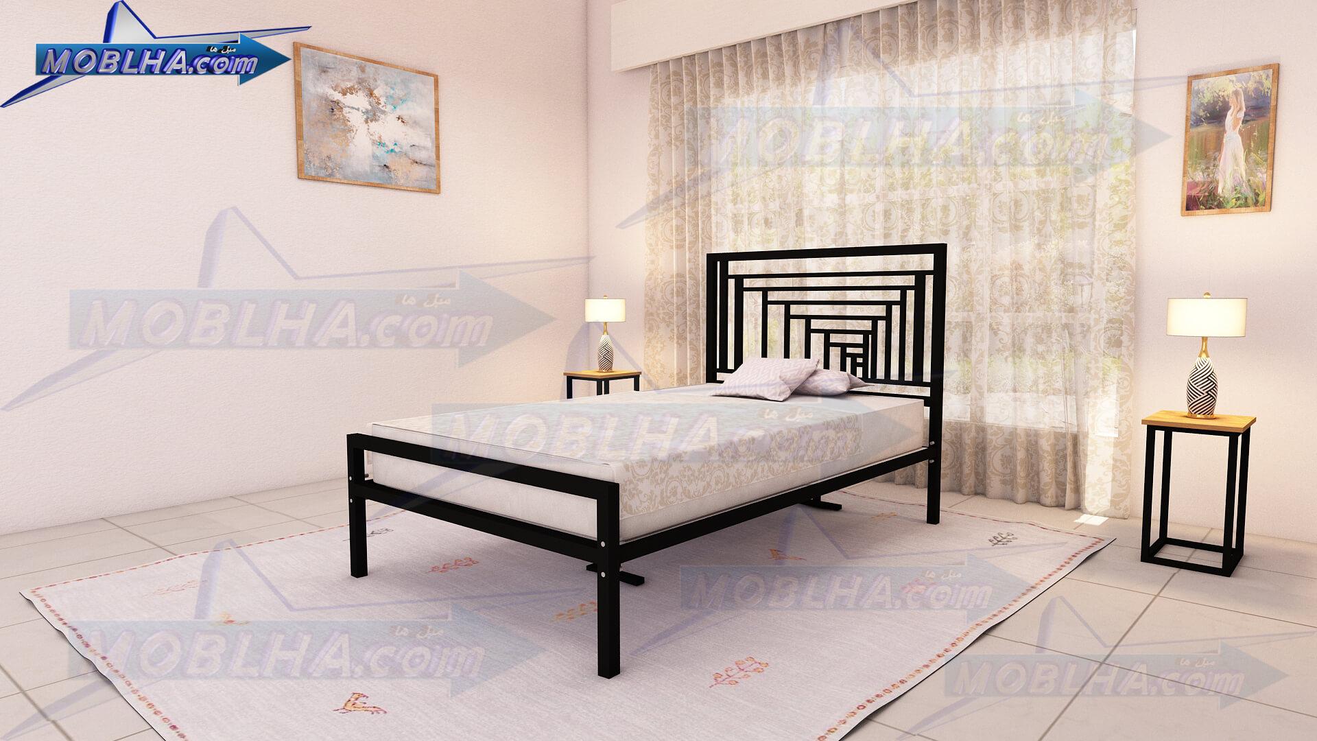 تخت خواب عرض 120 در طول 200 کد 161