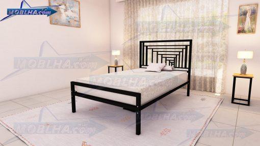 تخت خواب با طرح زیبای پرسپکتیو