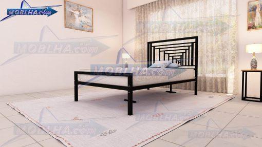 فروش تخت خواب یک و نیم نفره کد 161