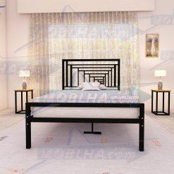 تصویر از نمای روبرو از تخت کد 161 عرض 120 در 200