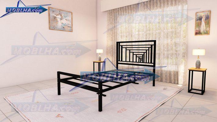 نمای پایین تخت خواب کد 161 سایز 120