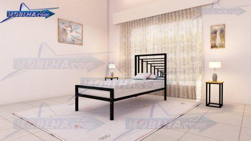 تخت عرض 90 به رنگ مشکی