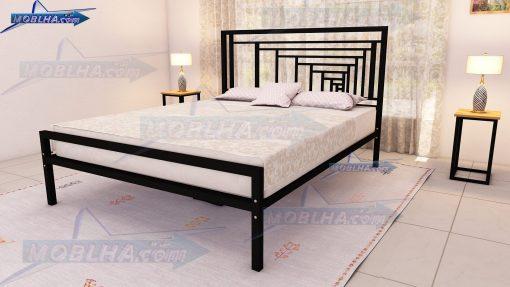 فروش اینترنتی تخت دو نفره زیبا به رنگ مشکی