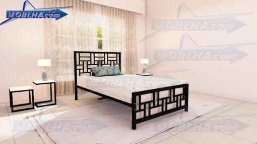 خرید تخت خواب یک و نیم نفره ساده و شیک کد 150