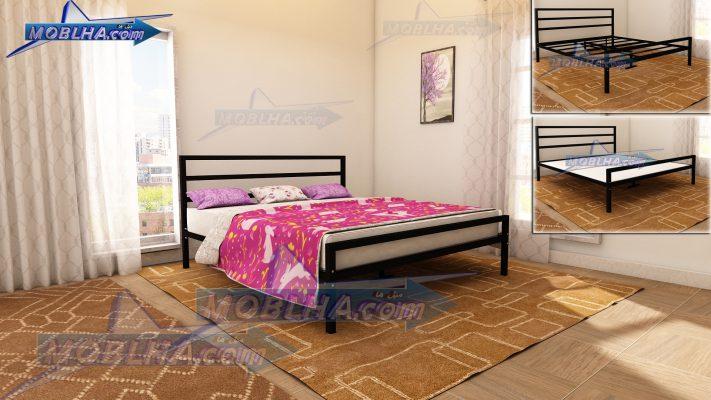 خرید تخت خواب دو نفره کینگ سایز 180*200 مدل 113