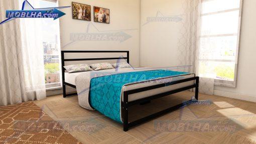 خرید تخت خواب دو نفره سایز 180 در 200 مدل 114