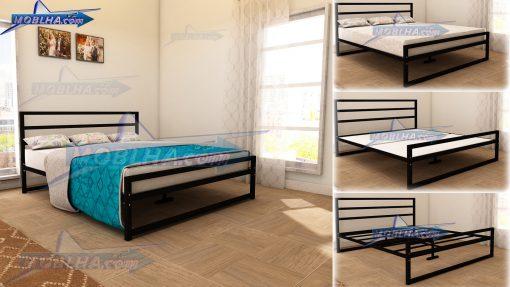 خرید تخت خواب سایز 180 در 200 سانت ، بزرگترین سایز تخت خواب دو نفره مدل 114