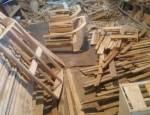 تصاویری از کارگاه چوبی تهران