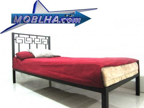 فروش و سفارش آنلاین تخت خواب دو نفره و تک نفره مدل 110 با طرح مصری یا ورساچه