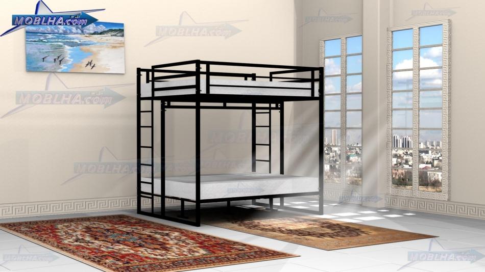 تخت خواب چهار نفره دو طبقه مدل 119