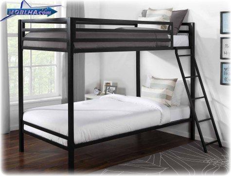 تختخواب دو طبقه همراه با پلکان زیبا - کد 103