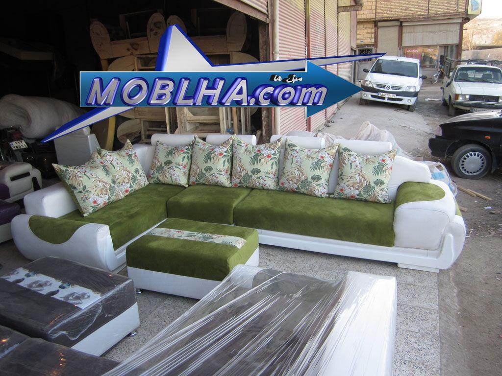 مبل زیبای ال کاج