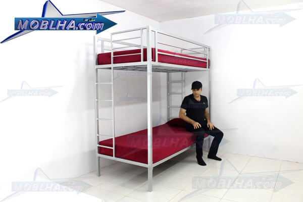 تخت خواب دو طبقه فلزی کمجا