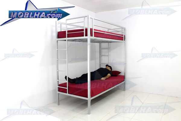 خرید اینترنتی تخت خواب دو طبقه فلزی