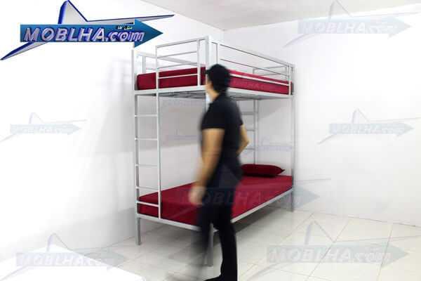 تخت خواب دو طبقه فلزی اداری